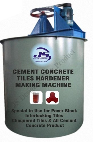 Cement Concrete Tiles Hardener Making Machine