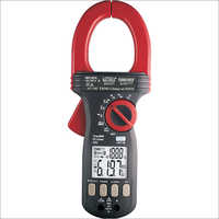 Ac Dc Trms Clamp-On Multimeter With