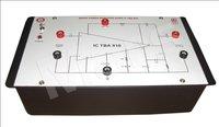 Audio power amplifier using IC TBA 810