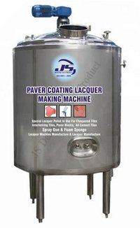 Paver Block Lacquer Making Machine