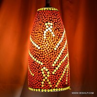 Orange Color Mosaic Glass Wall Hanging
