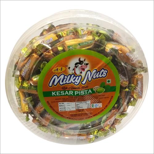 Kesar Pista Milky Nuts Candy
