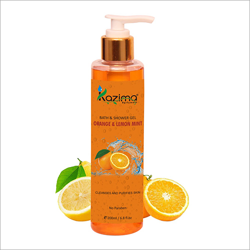 Orange And Lemon Shower Gel