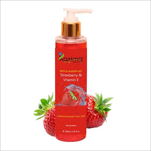 Strawberry And Vitamin E Shower Gel