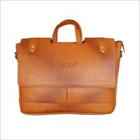 Cut Flap Leather Bag (X1707)