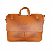 Cut Flap Leather Bag (X1707)