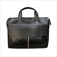 Premium Quality Laptop Messenger Bag In Leatherette (X1709)