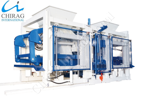Chirag Multi-Raw Material Ash Brick Making Machine