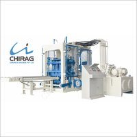 Chirag Simple and Easy Operating Ash Bricks Machine