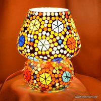 Small Home Decor Glass Table Lamp