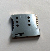 6 Pin Micro Sim Card Holder