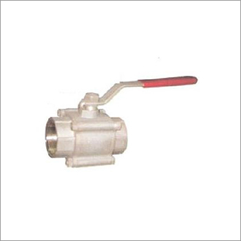 Three Piece Screwed End Ball Valve
