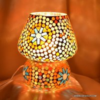 Mosaic Handmade Glass Table Lamp
