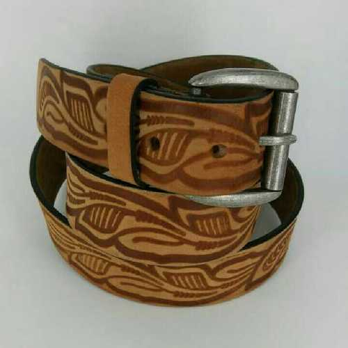Leather belt's