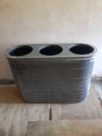 Stainless Steel Trio Bins