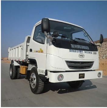 Flameproof diesel engine trackless rubber wheel vehicle