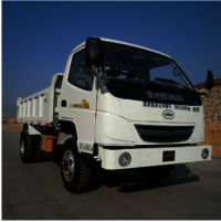 Flameproof diesel engine trackless rubber wheel vehicle