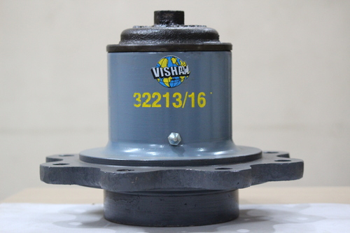 Tractor Trolley Steel Hub with Cap 13/16
