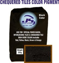 Chequered Tile Iron Oxide Pigment