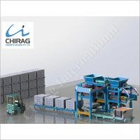 Chirag Multi-Raw Material Interlocking Brick Machine