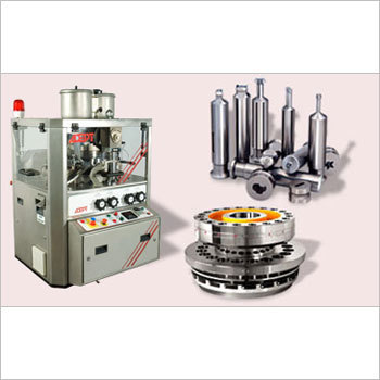 Double Rotary Tablet Compression Machine
