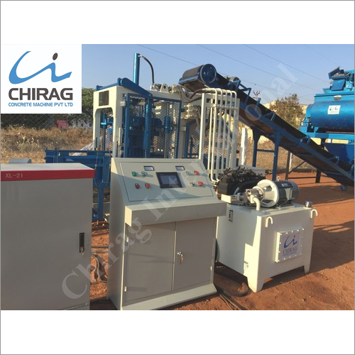 Chirag Superior Technology Cement Brick Machine