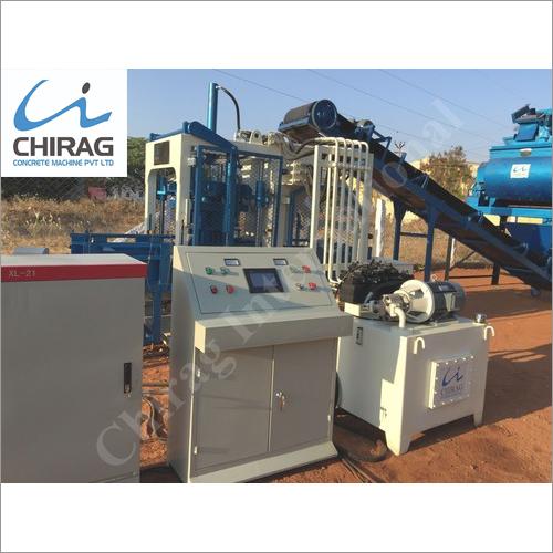 Chirag Superior Technology Cement Brick Machine