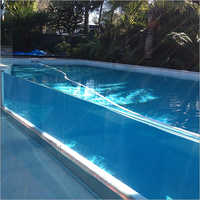 Glass Wall Pool Construction Service