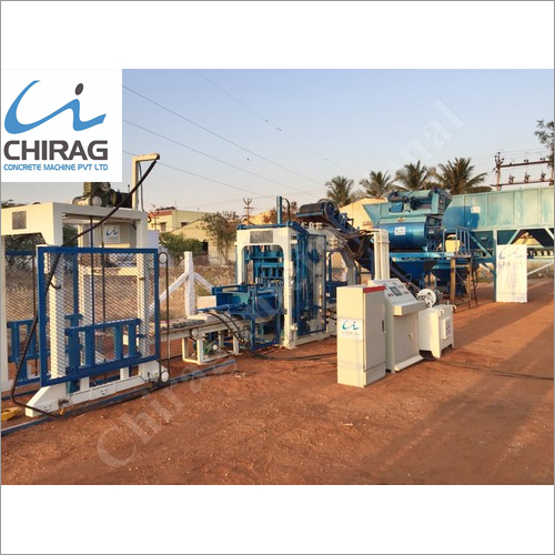 Chirag Advanced Popular Hollow Brick Machine