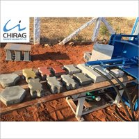 Chirag Integrated Advanced Interlocking Brick Machine