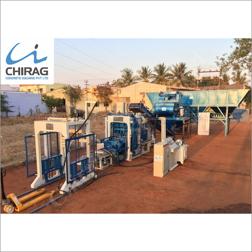 Chirag Advanced Popular Fly Ash Brick Making Machine