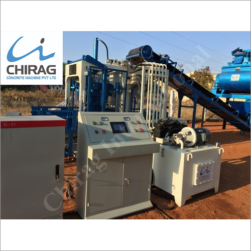 Chirag Ash Brick Making Machine