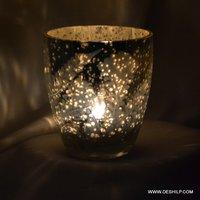 Handicraft Decor Glass Candle Holder