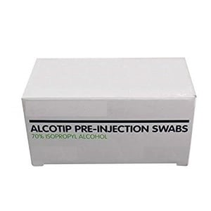 Pre Injection Alcohol Swabs