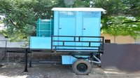 4 Seater Mobile Toilet Van