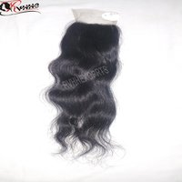 New Lace Bundle Closure 100% Remy Human Hair