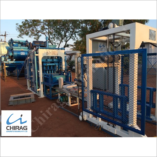 Chirag Mega Technology Concrete Brick Making Machine