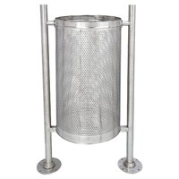 Outdoor Perforated Bin