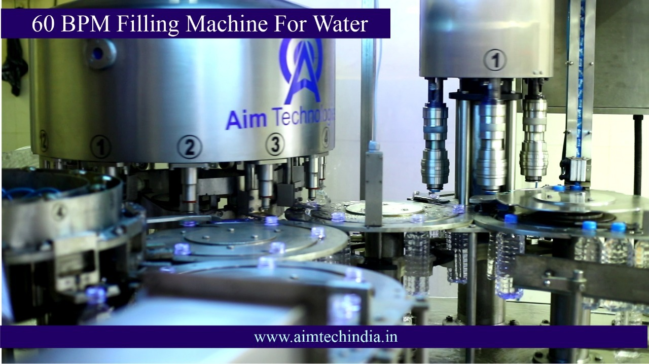 Automatic 60 BPM Filling Machine