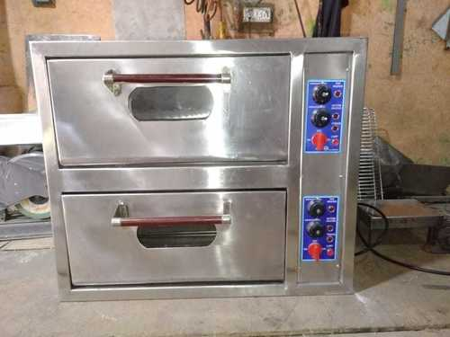 Electric Double Deck Pizza Oven
