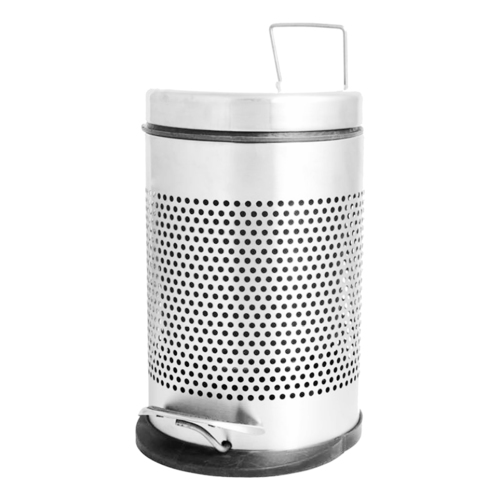 Pedal Bin Round Perforated