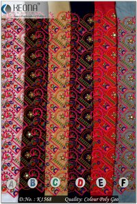 Katchhi Embroidery Fabric