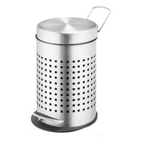 Pedal Bin Square Perforated