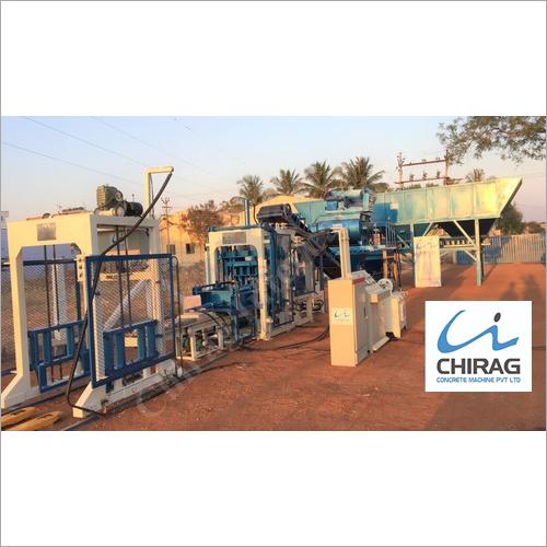 Chirag Powerful Performance Vibration Block Making Machine