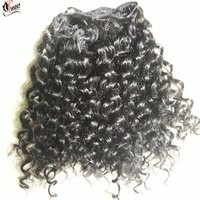 Best Quality No Shedding No Tangle Kinky Curly Human Hair