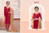 Satin Georgette Designer Suits