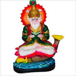 Poly Resin Jhulelal Statue