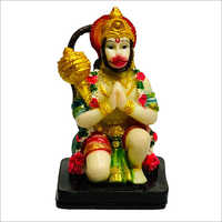 Poly Stone Hanuman Statue