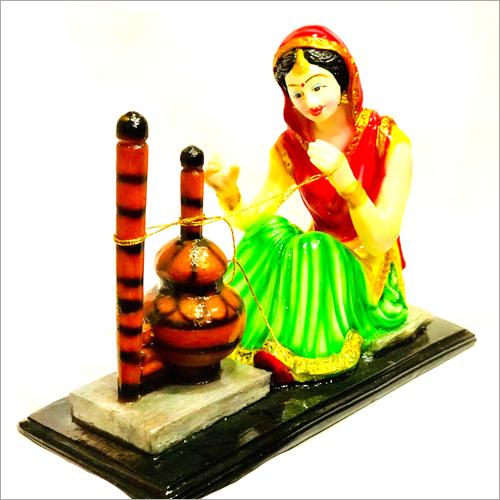 Polystone Madhani Doll Statue