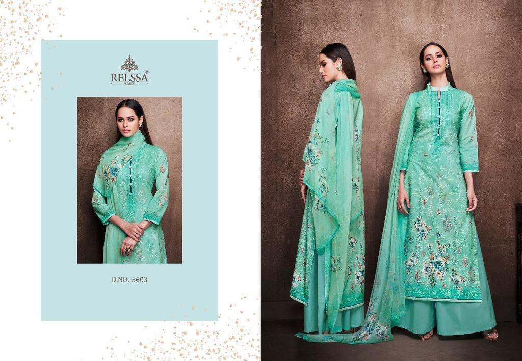 Digital Printed Cotton Salwar Suits